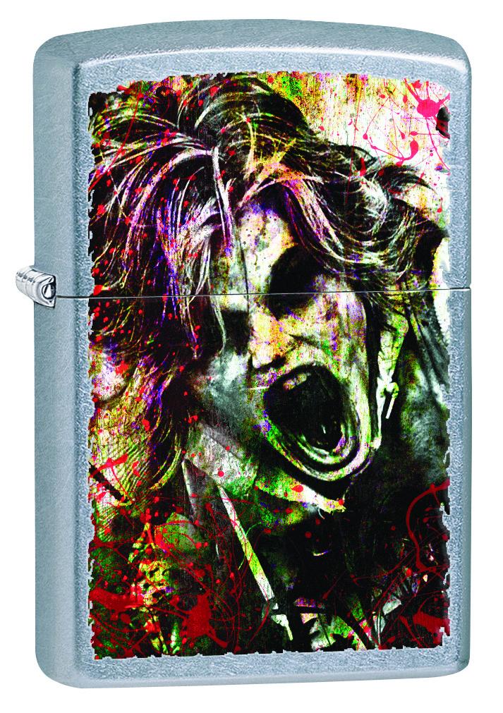 Зажигалка Zippo Classic, 3,6 х 1,2 х 5,6 см. 28876 zippo зажигалку в архангельске
