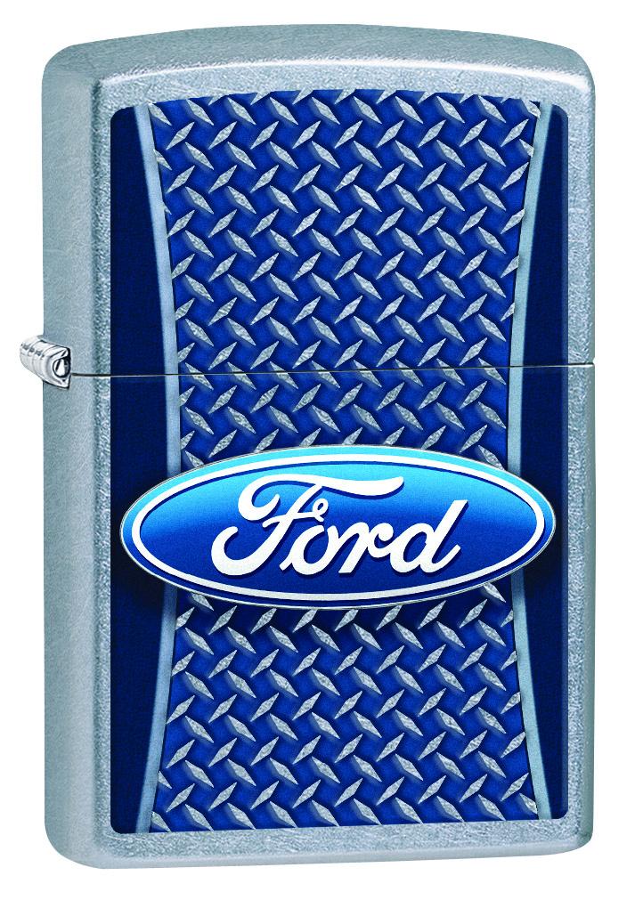Зажигалка Zippo Ford, 3,6 х 1,2 х 5,6 см. 29065 zippo зажигалку в архангельске