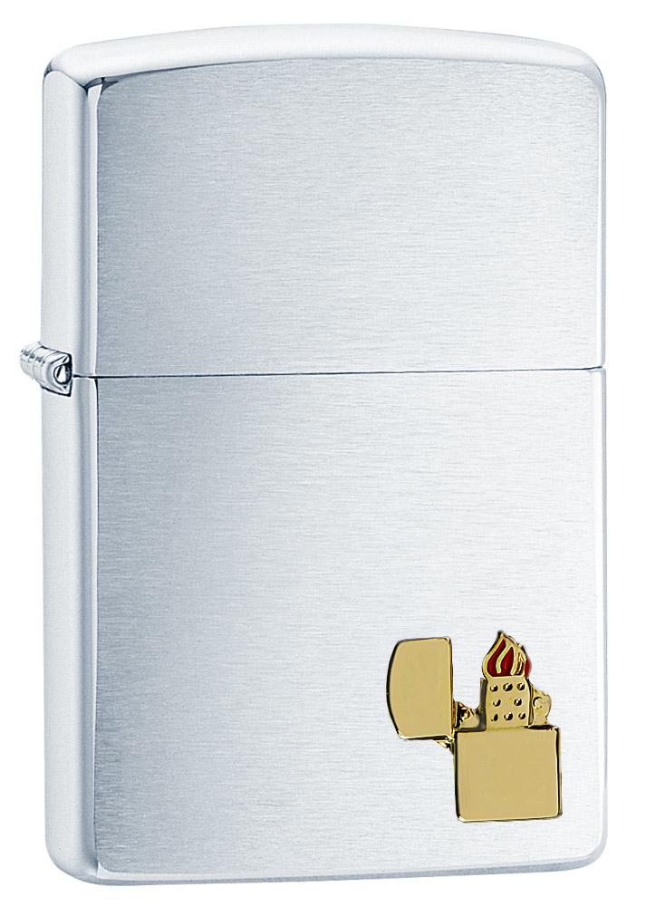 Зажигалка Zippo Classic, 3,6 х 1,2 х 5,6 см. 29102