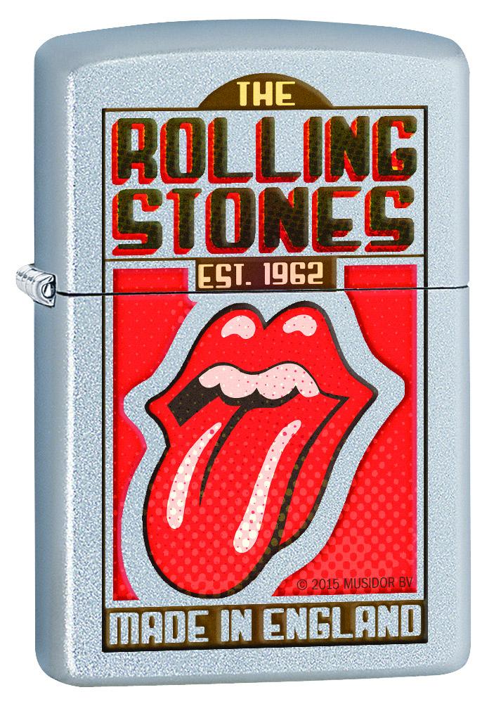 Зажигалка Zippo Rolling Stones, 3,6 х 1,2 х 5,6 см. 29127