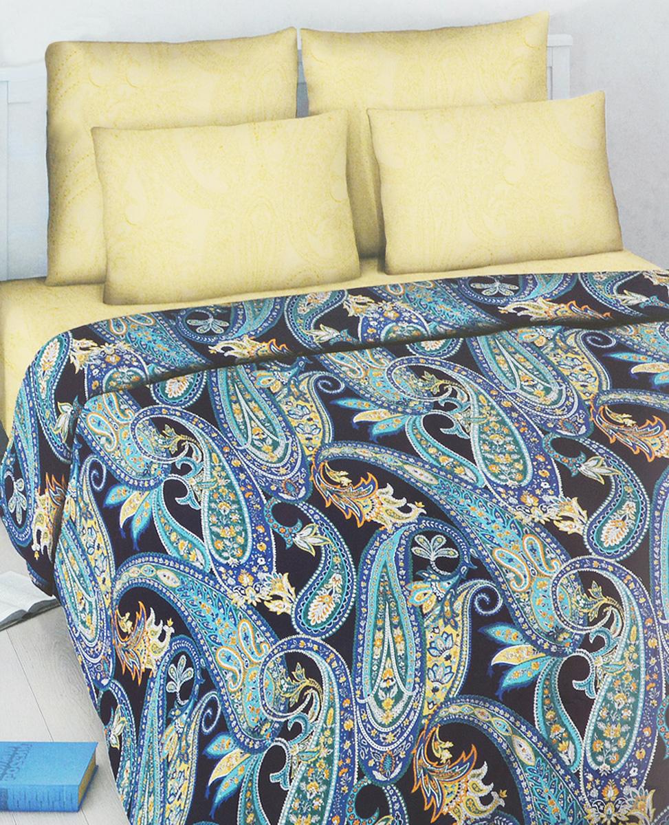 Комплект белья Василиса Сказочная ночь, 2-спальный, наволочки 70х705619/2Комплект постельного белья Василиса Сказочная ночь, выполненный из бязи (100% хлопка), состоит из пододеяльника, простыни и двух наволочек.Бязь - хлопчатобумажная ткань полотняного переплетения без искусственных добавок. Большое количество нитей делает эту ткань более плотной, более долговечной. Высокая плотность ткани позволяет сохранить форму изделия, его первоначальные размеры и первозданный рисунок.Приобретая комплект постельного белья Василиса Сказочная ночь, вы можете быть уверенны в том, что покупка доставит вам и вашим близким удовольствие и подарит максимальный комфорт.