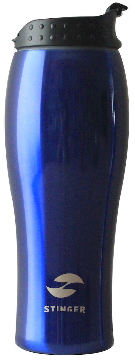 Термокружка Stinger, цвет: синий, 400 мл. HY-VF122-BlHY-VF122-BlС наступлением холодов бренд Stinger спешит порадовать вас долгожданным пополнением в коллекции - термокружками! Термокружка Stinger поможет сохранить тепло и вкус вашего напитка, поднимут настроение горячим кофе или чаем в любой морозный день. - корпус: нержавеющая сталь - внутренний резервуар: двойные стенки из нержавеющей стали - крышка: полипропилен - объем: 400 мл. Идеально подходит как для горячих, так и для холодных напитков. Держит горячую температуру наполнения 2 часа, холодную более 6 часов.