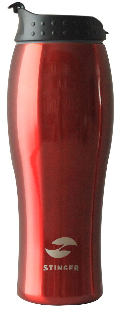 """С наступлением холодов бренд """"Stinger"""" спешит порадовать вас долгожданным пополнением в коллекции - термокружками! Термокружка """"Stinger"""" поможет сохранить тепло и вкус вашего напитка, поднимут настроение горячим кофе или чаем в любой морозный день. - корпус: нержавеющая сталь - внутренний резервуар: двойные стенки из нержавеющей стали - крышка: полипропилен - объем: 400 мл. Идеально подходит как для горячих, так и для холодных напитков. Держит горячую температуру наполнения 2 часа, холодную более 6 часов."""