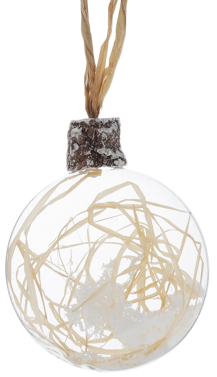 Украшение новогоднее подвесное Winter Wings Диск. Сюрприз, диаметр 8 смN07858Новогоднее подвесное украшение Winter Wings Диск. Сюрприз выполнено из стекла в виде диска с наполнителем внутри. С помощью специальной петельки украшение можно повесить в любом понравившемся вам месте. Но, конечно, удачнее всего оно будет смотреться на праздничной елке. Елочная игрушка - символ Нового года. Она несет в себе волшебство и красоту праздника. Создайте в своем доме атмосферу веселья и радости, украшаяновогоднюю елку нарядными игрушками, которые будут из года в год накапливать теплоту воспоминаний.