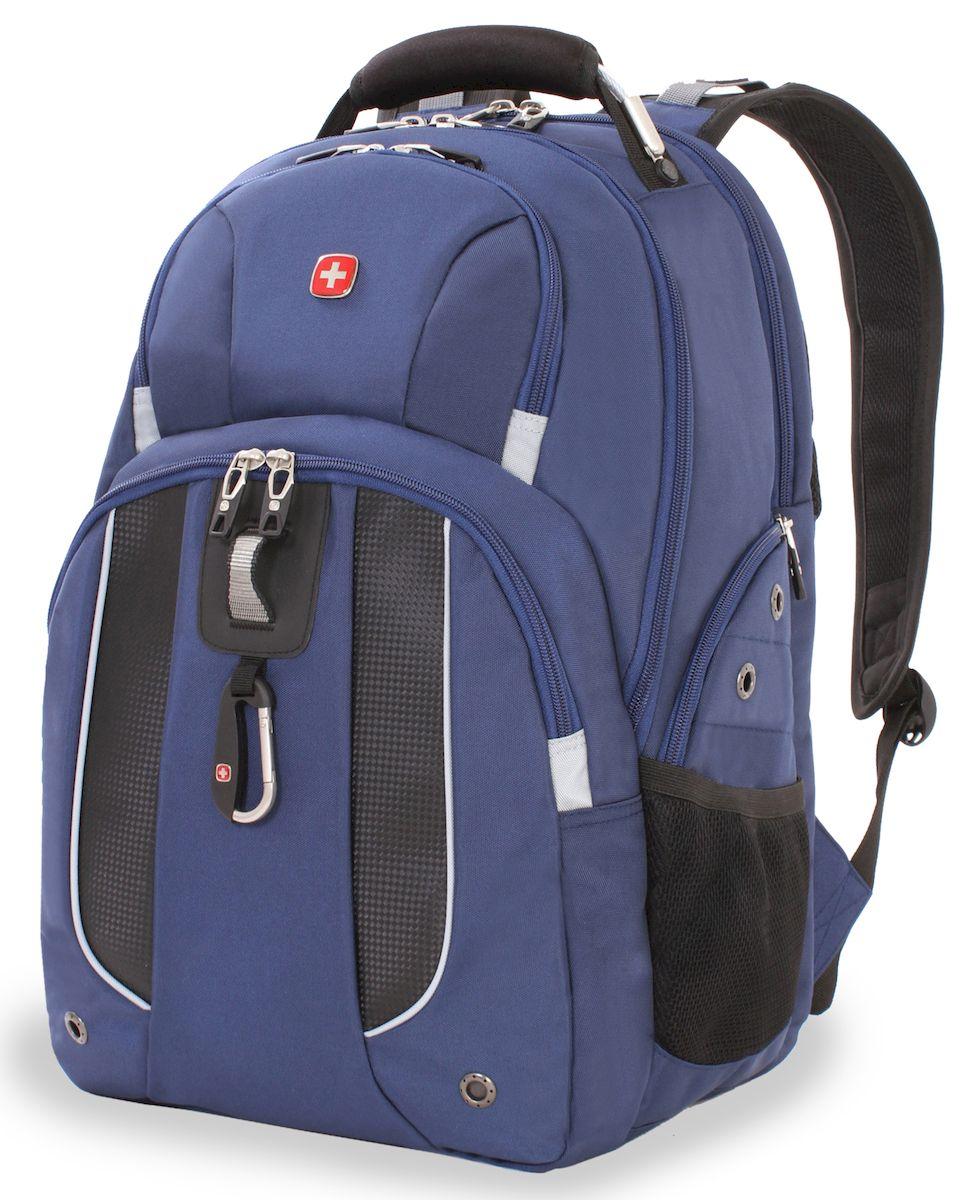 Рюкзак Wenger, цвет: темно-синий. 6918303408