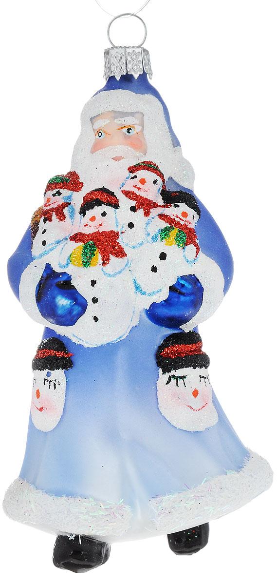 Украшение новогоднее подвесное Winter Wings Дед Мороз с подарком, высота 10 смN07610Новогоднее подвесное украшение Winter Wings Дед Мороз с подарком выполнено из стекла. С помощью специальной петельки украшение можно повесить в любом понравившемся вам месте. Но, конечно, удачнее всего оно будет смотреться на праздничной елке.Елочная игрушка - символ Нового года. Она несет в себе волшебство и красоту праздника. Создайте в своем доме атмосферу веселья и радости, украшая новогоднюю елку нарядными игрушками, которые будут из года в год накапливать теплоту воспоминаний.Размер: 5,5 х 5,5 х 10 см.