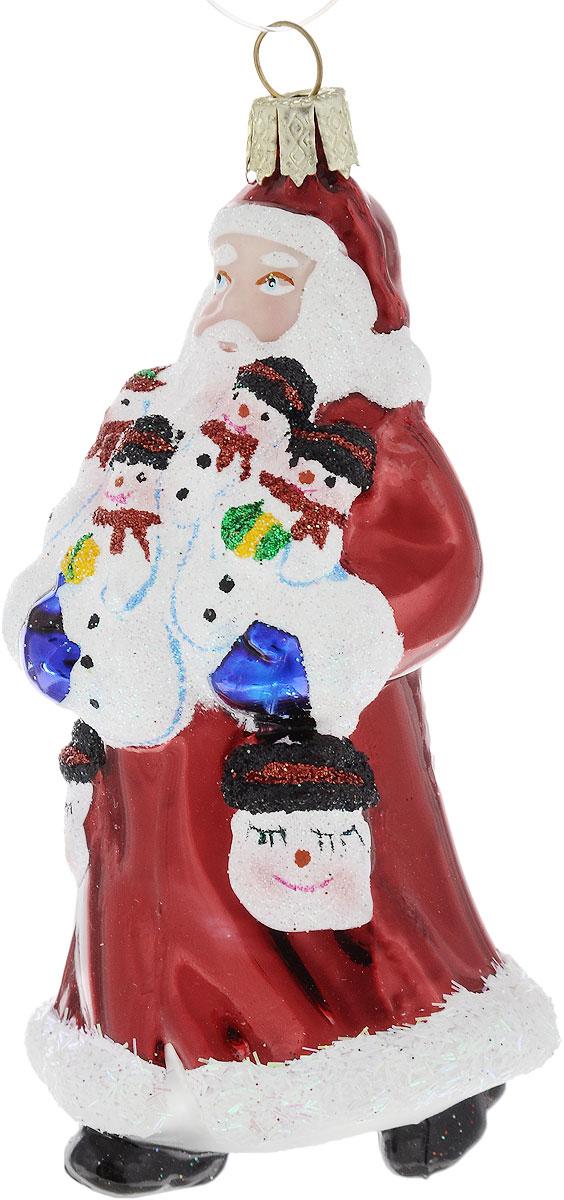 Украшение новогоднее подвесное Winter Wings Дед Мороз в красной шубе, высота 10 смN07615Новогоднее подвесное украшение Winter Wings Дед Мороз в красной шубе выполнено из стекла. С помощью специальной петельки украшение можно повесить в любом понравившемся вам месте. Но, конечно, удачнее всего оно будет смотреться на праздничной елке.Елочная игрушка - символ Нового года. Она несет в себе волшебство и красоту праздника. Создайте в своем доме атмосферу веселья и радости, украшая новогоднюю елку нарядными игрушками, которые будут из года в год накапливать теплоту воспоминаний.Размер: 5 х 5 х 10 см.