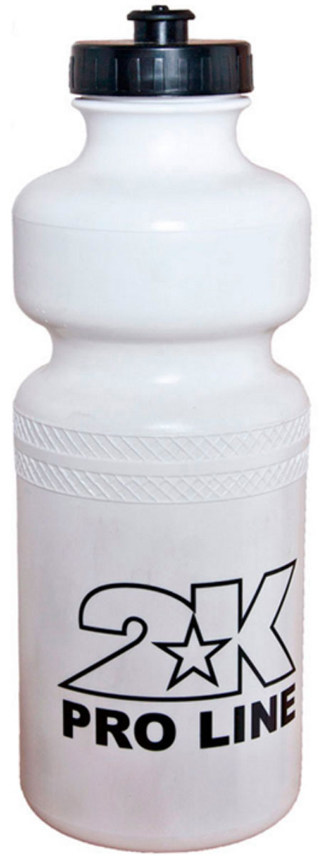 Бутылка для воды 2K Sport, цвет: белый, 1 л127902DСтильная бутылка для воды 2K Sport, изготовленная из ПНД, имеет ударопрочный корпус.Бутылка оснащена просто открывающимся и, в то же время, надежным защитным клапаном.