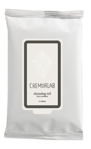 Cremorlab T.E.N. Cremor Cleansing Veil / Салфетки для снятия макияжа, 10 шт69047Прекрасно и быстро удаляют следы любого макияжа, снимая раздражения и оставляя кожу увлажненной уже на этапе очищения. Входящие в состав водные и растительные ингредиенты, мгновенно впитываются, глубоко питают и прекрасно сохраняются кожей, восстанавливают ее структуру и водно-жировой баланс. Не содержит искусственных ароматизаторов, минеральных масел и парабенов. Подходит для всех типов и состояний кожи.Количество: 10 штук