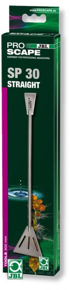 Двусторонняя лопатка для декорирования аквариума JBL ProScape Tool SP straight, 30 см скребок для аквариума хаген складной