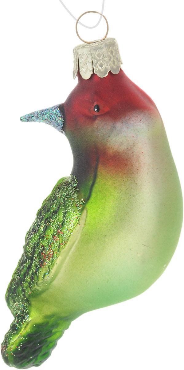Украшение новогоднее подвесное Winter Wings Птичка, длина 7,5 смN07791Новогоднее подвесное украшение Winter Wings Птичка выполнено из стекла. С помощью специальной петельки украшение можно повесить в любом понравившемся вам месте. Но, конечно, удачнее всего оно будет смотреться на праздничной елке.Елочная игрушка - символ Нового года. Она несет в себе волшебство и красоту праздника. Создайте в своем доме атмосферу веселья и радости, украшая новогоднюю елку нарядными игрушками, которые будут из года в год накапливать теплоту воспоминаний.Размер: 7,5 х 4 х 4,5 см.