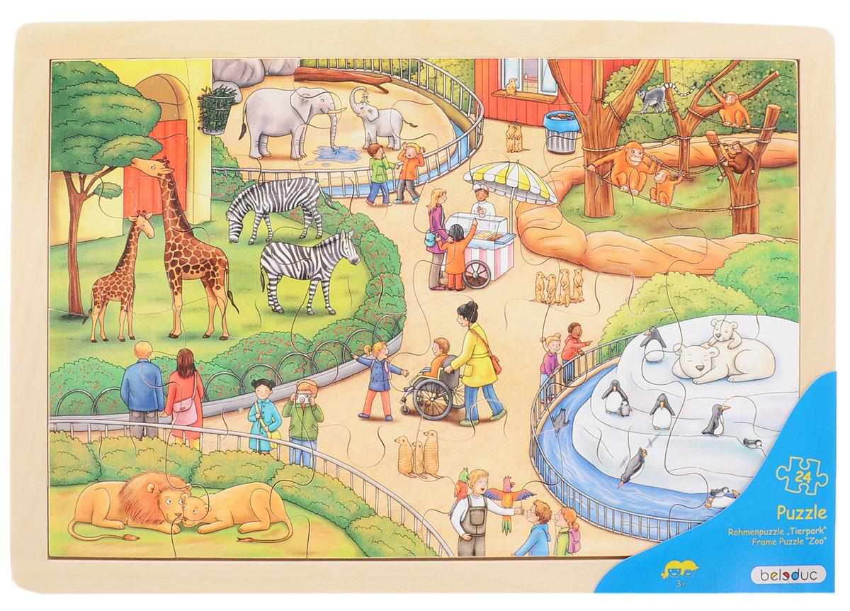Beleduc Пазл для малышей Зоопарк