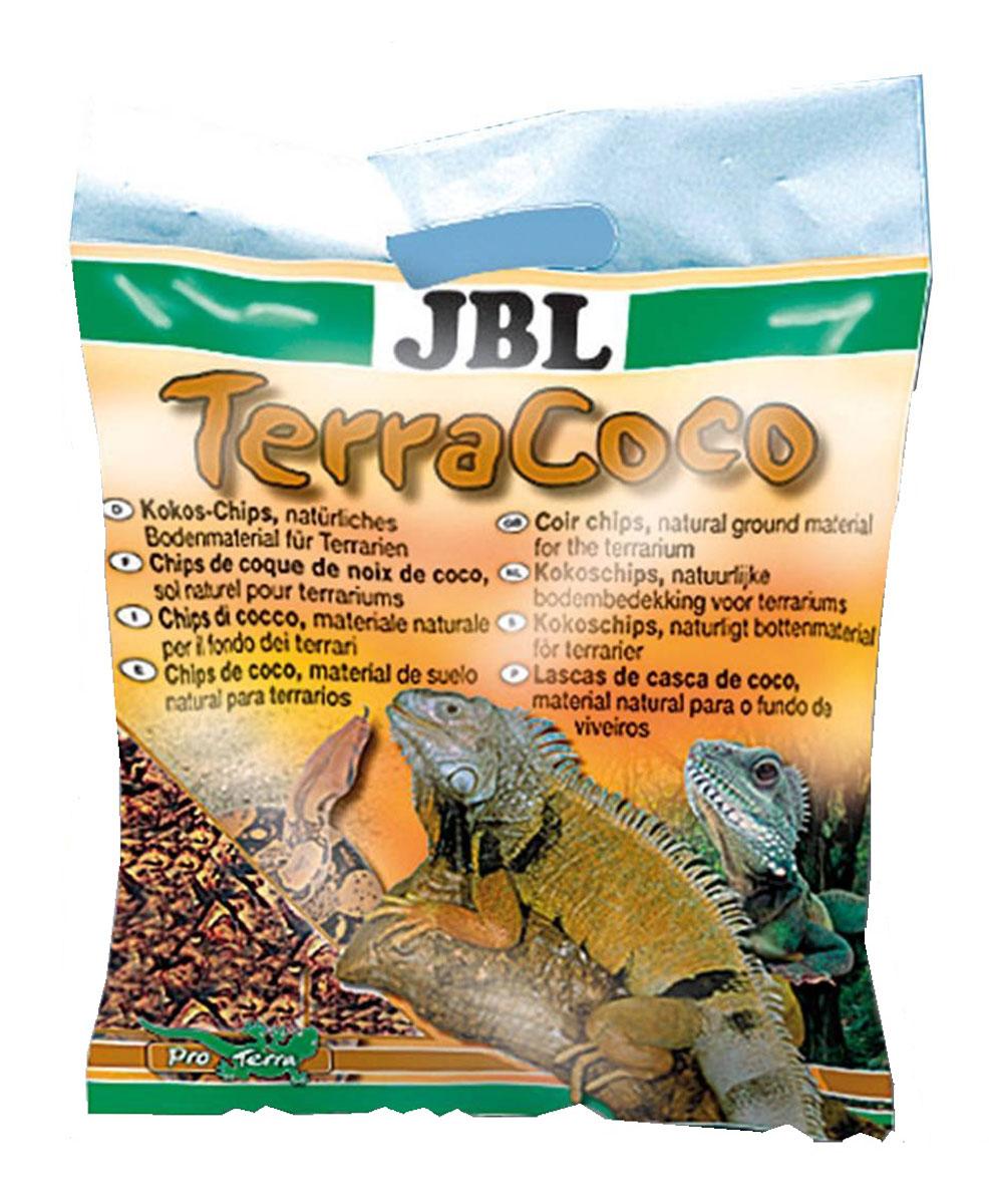 Кокосовая стружка для террариума JBL TerraCoco, 5 л (520 г) грунт для террариума sera reptil coco soil
