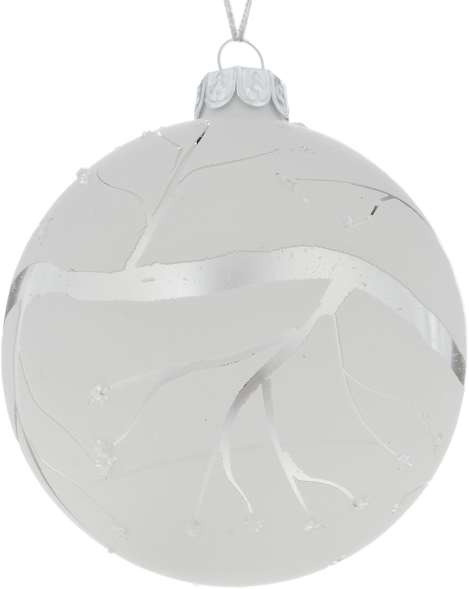 Украшение новогоднее подвесное Winter Wings Зима, диаметр 8 смN07936Новогоднее подвесное украшение Winter Wings Зима выполнено из стекла. С помощью специальной петельки украшение можно повесить в любом понравившемся вам месте. Но, конечно, удачнее всего оно будет смотреться на праздничной елке.Елочная игрушка - символ Нового года. Она несет в себе волшебство и красоту праздника. Создайте в своем доме атмосферу веселья и радости, украшая новогоднюю елку нарядными игрушками, которые будут из года в год накапливать теплоту воспоминаний.Диаметр: 8 см.