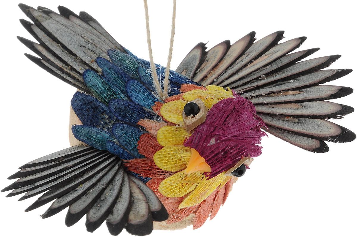 Украшение новогоднее подвесное Winter Wings Птичка, 12 х 11,5 смN181393Новогоднее подвесное украшение Winter Wings Птичка выполнено из соломы. С помощью специальной петельки украшение можно повесить в любом понравившемся вам месте. Но, конечно, удачнее всего оно будет смотреться на праздничной елке.Елочная игрушка - символ Нового года. Она несет в себе волшебство и красоту праздника. Создайте в своем доме атмосферу веселья и радости, украшая новогоднюю елку нарядными игрушками, которые будут из года в год накапливать теплоту воспоминаний.Размер: 12 х 11,5 х 5,5 см.