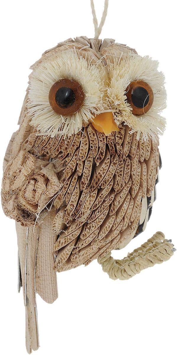 Украшение новогоднее подвесное Winter Wings Сова, высота 10 смN181395Новогоднее подвесное украшение Winter Wings Совавыполнено из соломы в виде очаровательной совы. Спомощьюспециальной петельки украшение можно повесить влюбом понравившемся вамместе. Но, конечно, удачнее всего оно будетсмотреться на праздничной елке.Елочная игрушка - символ Нового года. Она несет всебе волшебство и красотупраздника. Создайте в своем доме атмосферувеселья и радости, украшаяновогоднюю елку нарядными игрушками, которыебудут из года в год накапливатьтеплоту воспоминаний. Размер: 5,5 х 5 см. Высота: 10 см.