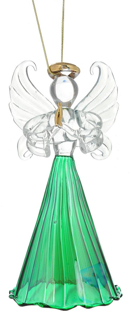 Украшение новогоднее подвесное Winter Wings Весенний ангел, 6 х 6 х 13 смN07715Украшение Winter Wings Весенний ангел прекрасно подойдет для праздничного декора новогодней ели. Изделие выполнено из высококачественного стекла. Для удобного размещения на елке предусмотрена текстильная петелька.Елочная игрушка - символ Нового года. Она несет в себе волшебство и красоту праздника. Создайте в своем доме атмосферу веселья и радости, украшая новогоднюю елку нарядными игрушками, которые будут из года в год накапливать теплоту воспоминаний.