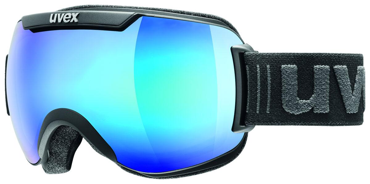 Маска горнолыжная Uvex Downhill 2000 FM, цвет: черный. 0115-2426