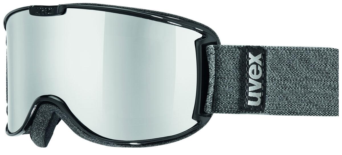 Маска горнолыжная Uvex Skyper LTM, цвет: черный