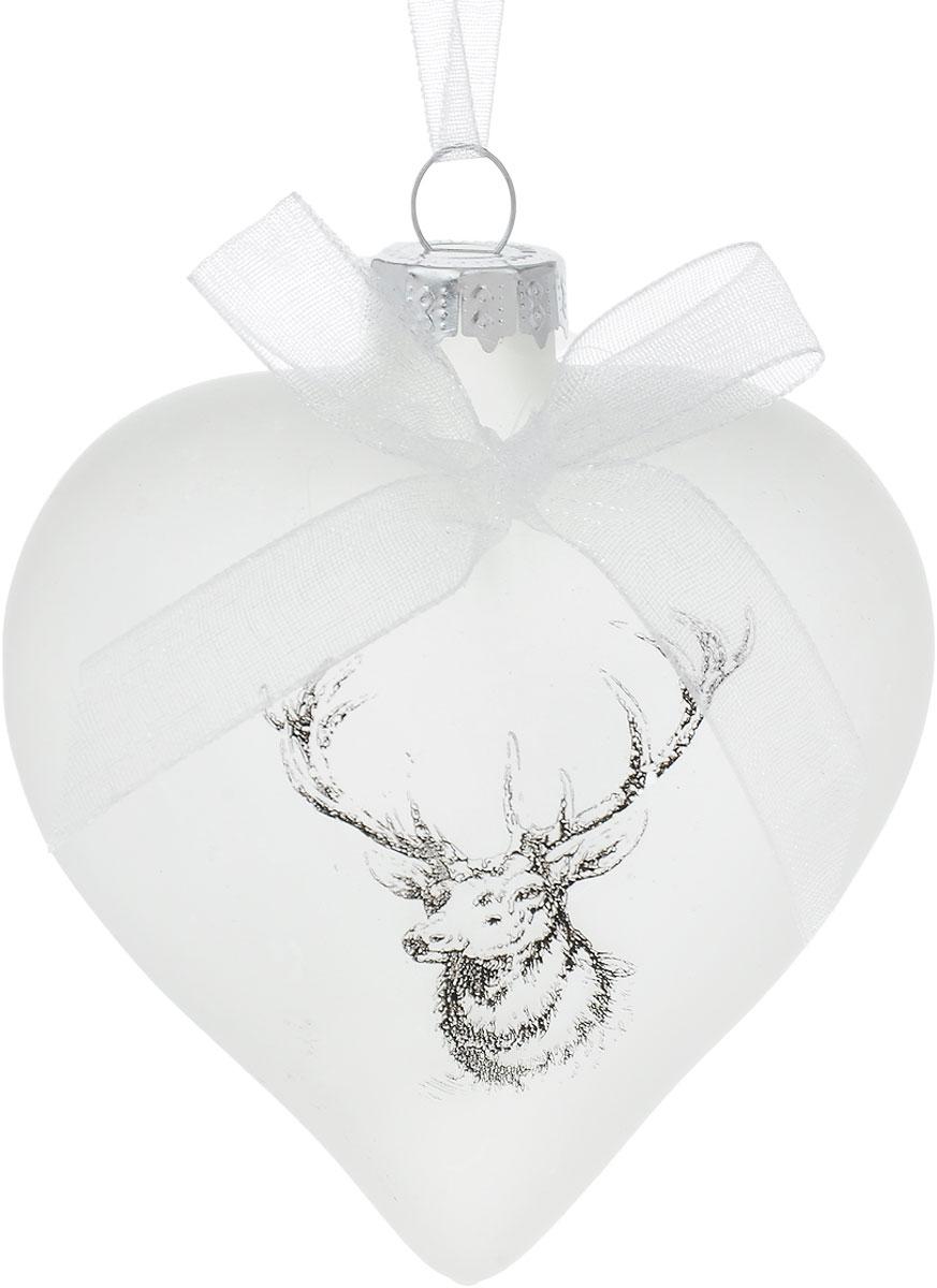 Украшение новогоднее подвесное Winter Wings Олень, высота 7 смN07971Новогоднее подвесное украшение Winter Wings Олень выполнено из стекла в виде сердца. С помощью специальной петелькиукрашение можно повесить в любом понравившемся вам месте. Но, конечно, удачнее всего оно будет смотреться на праздничной елке.Елочная игрушка - символ Нового года. Она несет в себе волшебство и красоту праздника. Создайте в своем доме атмосферу веселья ирадости, украшаяновогоднюю елку нарядными игрушками, которые будут из года в год накапливать теплоту воспоминаний. Размер украшения: 7 х 7 см.