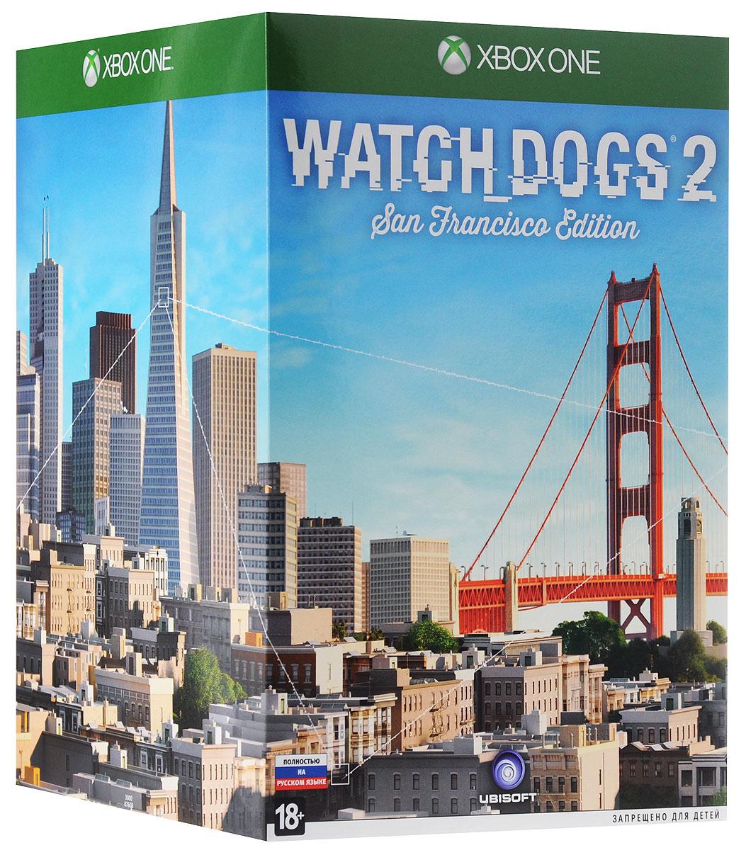 Watch Dogs 2. Коллекционное издание Сан-Франциско (Xbox One) watch dogs 2 коллекционное издание сан франциско [ps4]