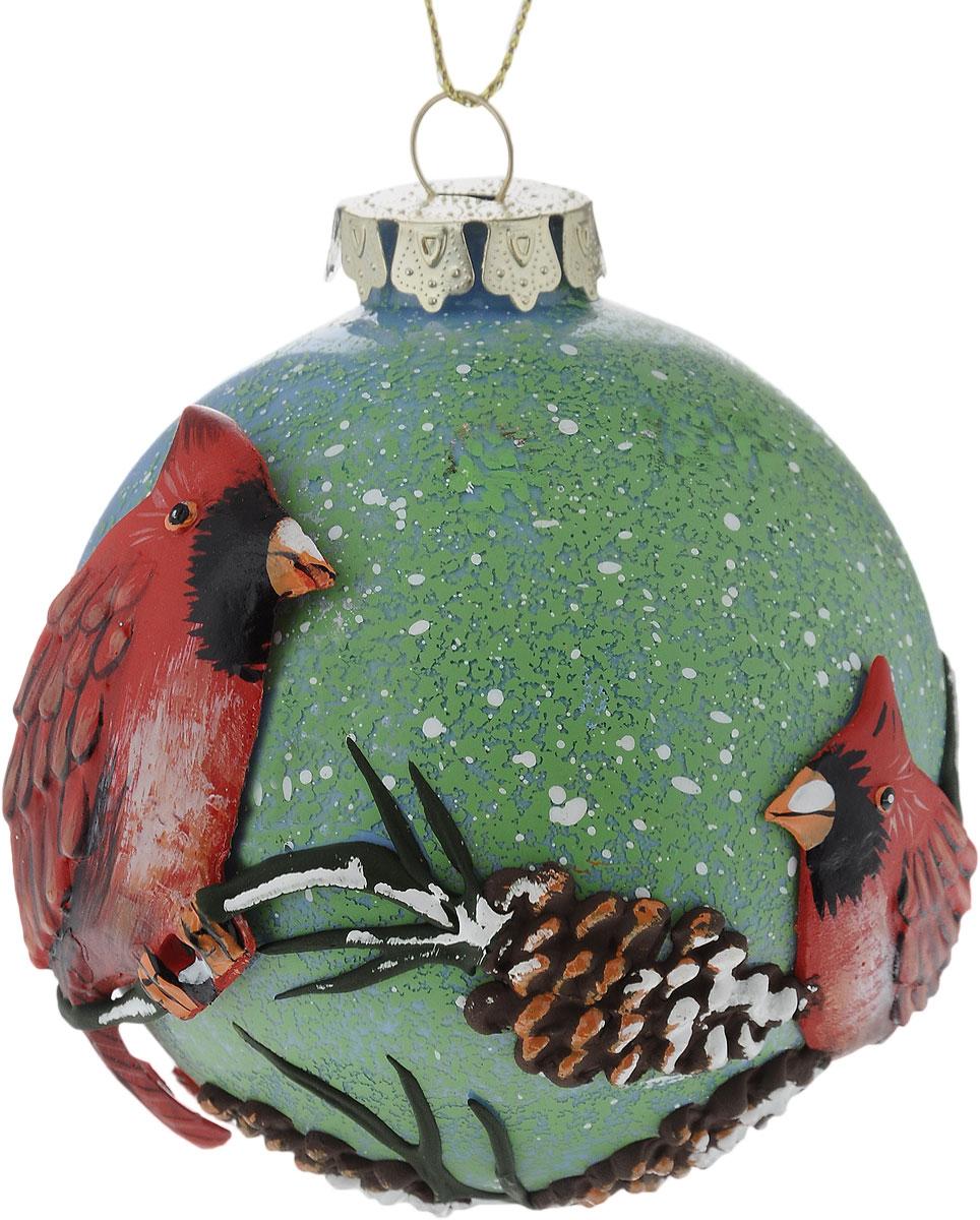 Украшение новогоднее подвесное Winter Wings Шар, диаметр 8 см. N07922N07922Новогоднее подвесное украшение Winter Wings Шар выполнено из стекла в виде шара с рельефным узором. С помощью специальной петельки украшение можно повесить в любом понравившемся вам месте. Но, конечно, удачнее всего оно будет смотреться на праздничной елке.Елочная игрушка - символ Нового года. Она несет в себе волшебство и красоту праздника. Создайте в своем доме атмосферу веселья и радости, украшая новогоднюю елку нарядными игрушками, которые будут из года в год накапливать теплоту воспоминаний.