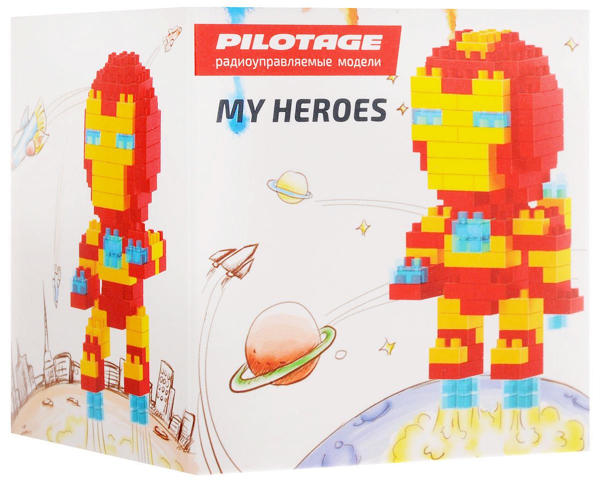Pilotage Конструктор Iron Man 3 в 1 pilotage leopard ii a6 nato 3 1 24 27mhz rc8129