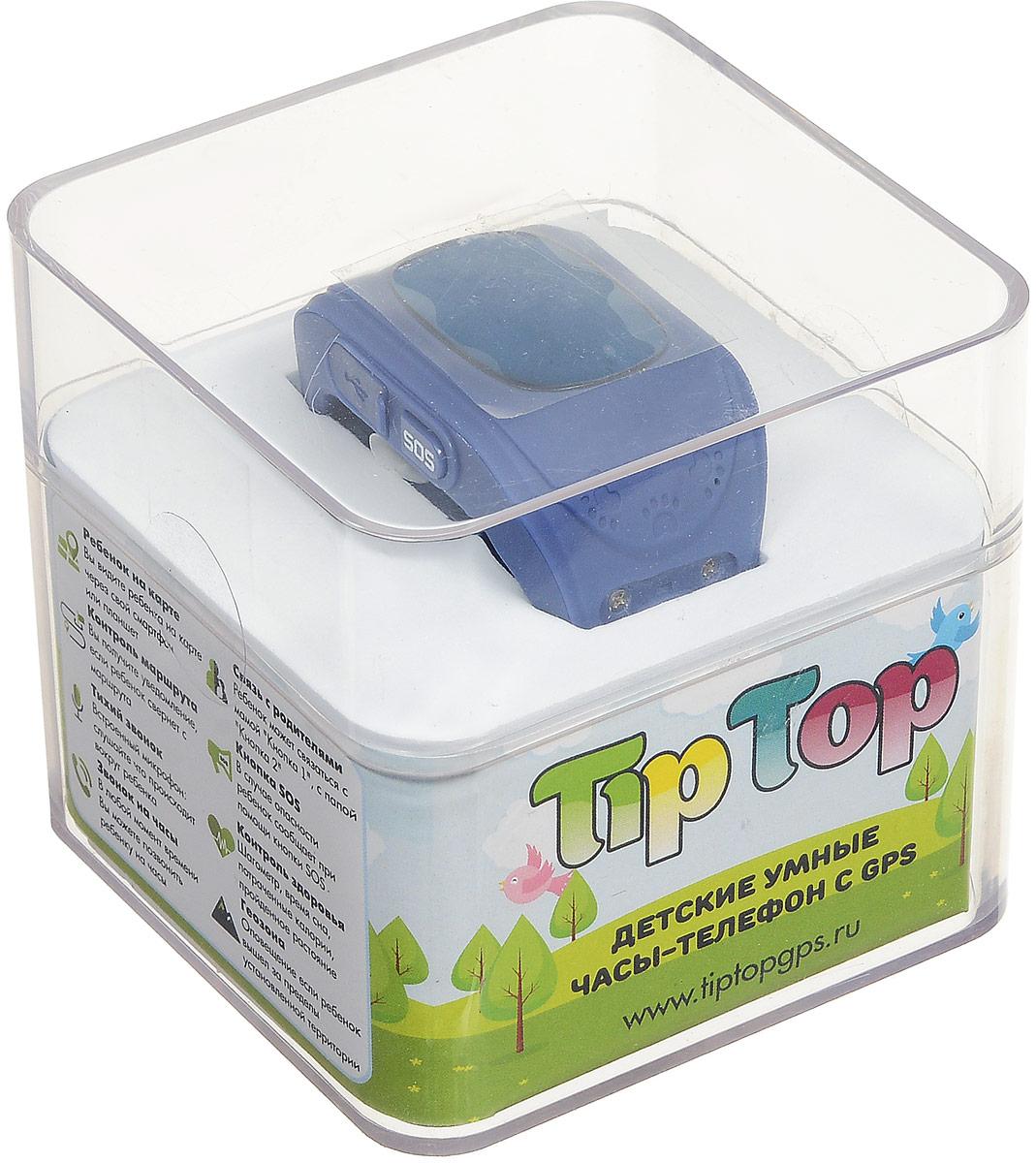 TipTop 50ЧБ, Blue детские часы-телефон TipTop
