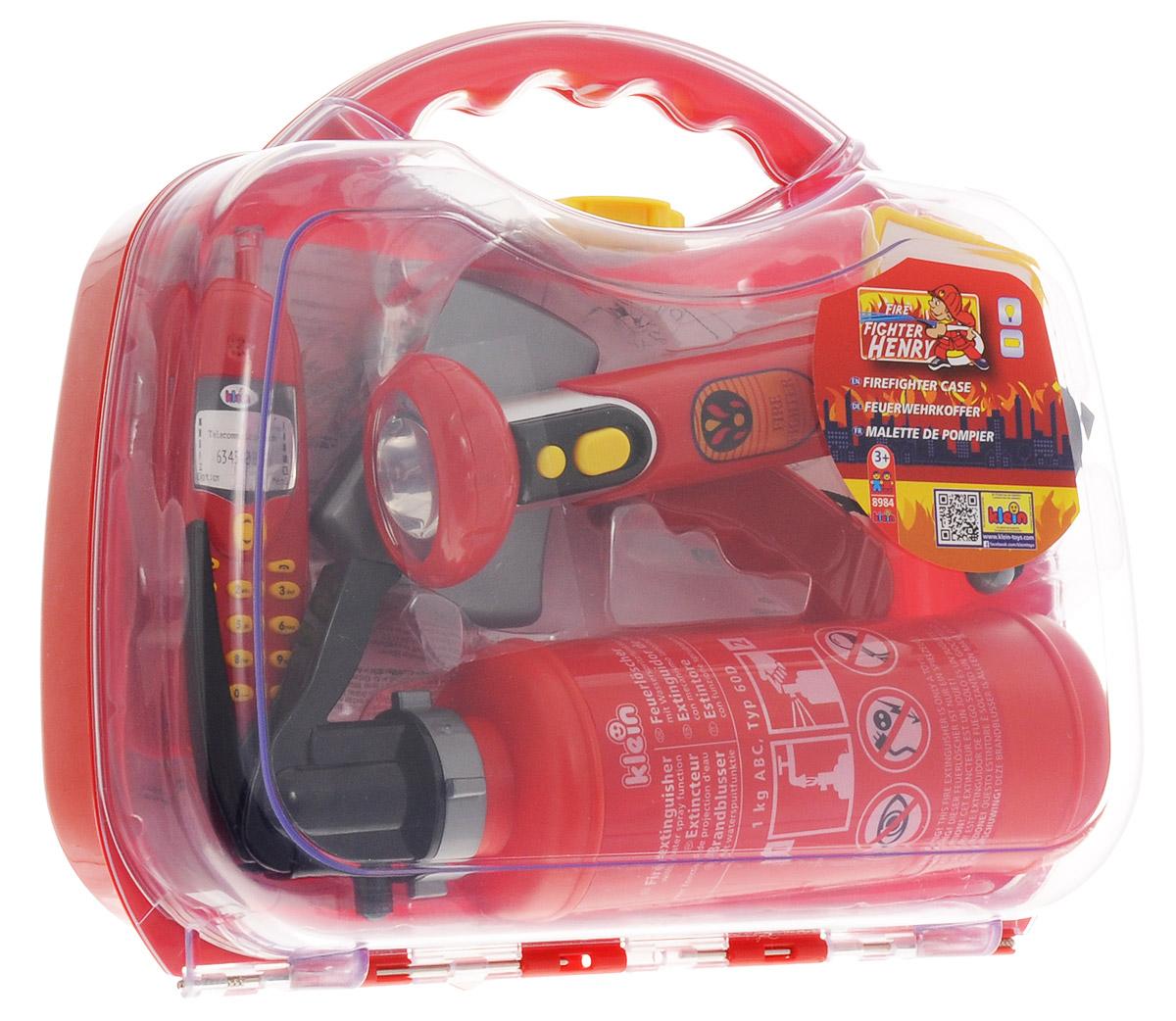 Klein Игрушечный набор пожарного купить телефон леново а 916