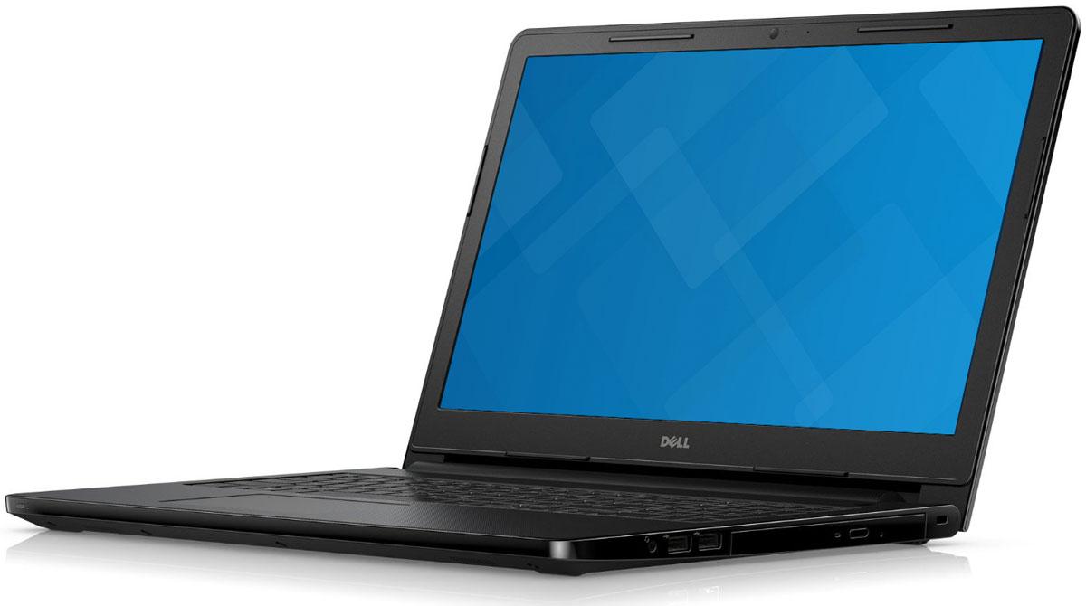 Dell Inspiron 3552 (0569), Black3552-0569Ноутбук Dell Inspiron 3552 толщиной всего 22 мм легко помещается в сумке для ноутбука или дорожной сумке и не занимает много места.Нет розетки - нет проблем: невозможно все время находиться рядом с розеткой, но благодаря 6-часовой продолжительности работы без подзарядки вам и не придется.Расширьте свой кругозор: смотреть любимые фильмы и передачи на этом широком 15-дюймовом экране - одно удовольствие.Громко и четко: вы будете поражены чистотой звука, которую обеспечивает отмеченная наградами технология GRAMMY Waves MaxxAudio. Общайтесь с друзьями и смотрите любимые фильмы, наслаждаясь невероятным качеством звука. Надежные беспроводные подключения: общайтесь с удовольствием благодаря новейшим возможностям беспроводной связи, которые позволяют устанавливать быстрые и надежные соединения с потрясающим диапазоном.Видеть - значит верить: улыбнитесь вашим друзьям и близким, которых нет рядом, с помощью встроенной веб-камеры. Сохраняйте все необходимое: сохраняйте все ваши фотографии, домашние видеофильмы, важные документы и смешные ролики про домашних питомцев, которые вы просматривали миллион раз, на вместительный жесткий диск емкостью 500 Гбайт. Благодаря емкости памяти 4 Гбайт можно открывать и запускать несколько приложений без замедления работы. Подключайте все устройства: подключайте других цифровые устройства с помощью высокоскоростных портов USB или порта HDMI. Для быстрой и удобной передачи файлов ноутбук также оборудован устройством считывания карт памяти SD.Точные характеристики зависят от модификации.Ноутбук сертифицирован EAC и имеет русифицированную клавиатуру и Руководство пользователя.