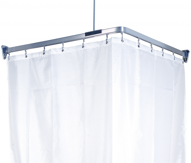 Карниз гибкий для ванной Flex, цвет: хром, длина 300 см688-90Карниз Flex выполнен из алюминия и предназначен для крепления душевой шторки в ванной комнате. В комплект входят три блока по 100 см, 12 крючков, две штанги для крепления уголков к потолку и шурупы. Карниз гибкий, ему легко придать любую форму. На задней стороне упаковки нарисована подробная инструкция по сборке карниза.Максимальная длина карниза: 300 см. Характеристики:Материал: алюминий, пластик. Цвет: хром. Максимальная длина карниза: 300 см. Размер упаковки: 17 см х 104 см х 5 см. Производитель: Швеция. Изготовитель: Китай. Артикул: 688-90.
