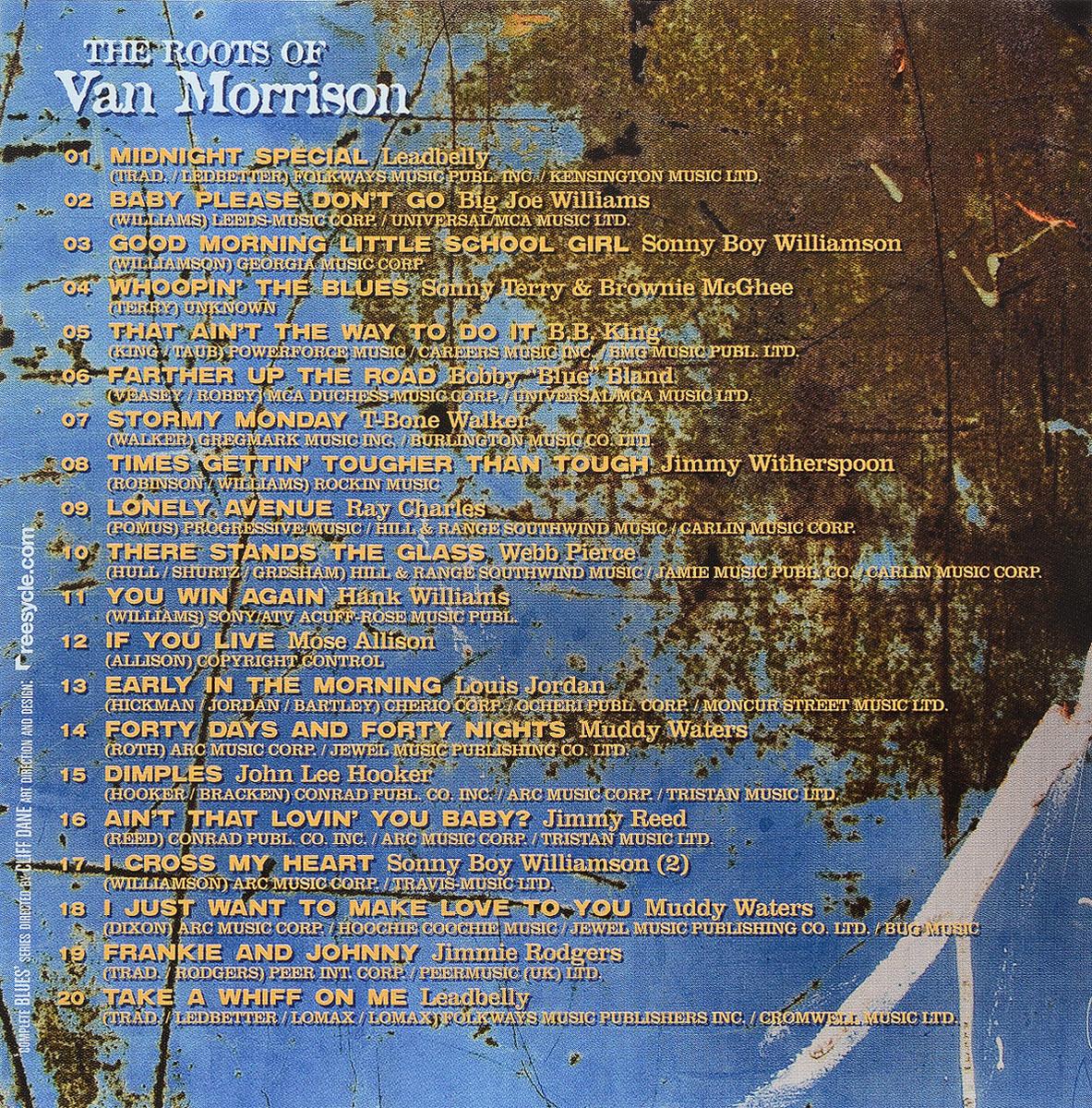 Complete Blues.  The Roots Of Van Morrison Волтэкс-инвест,Snapper Music