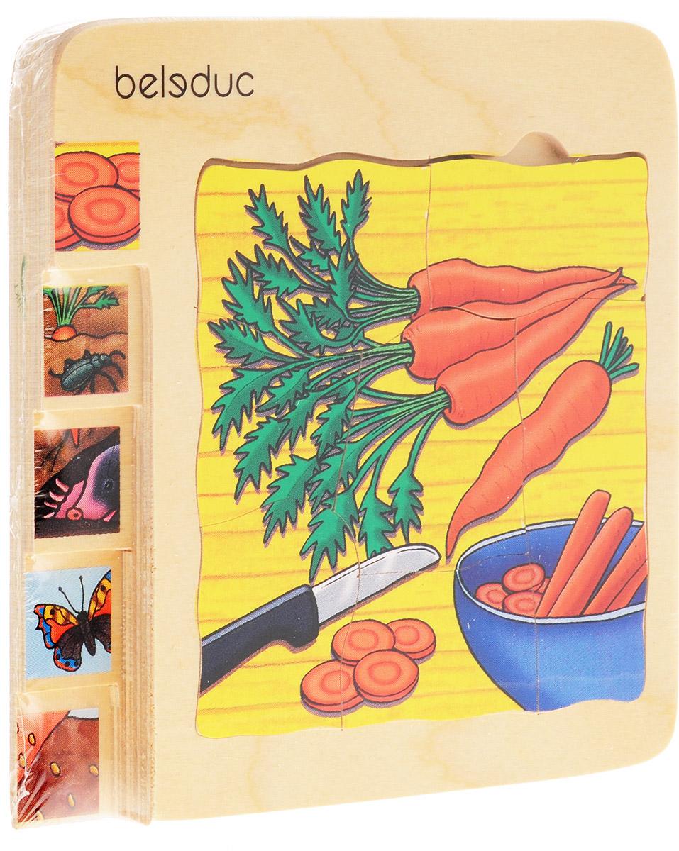 BeleducПазл для малышей Морковка 5 в 1 Beleduc Lernspielwaren Gmbh
