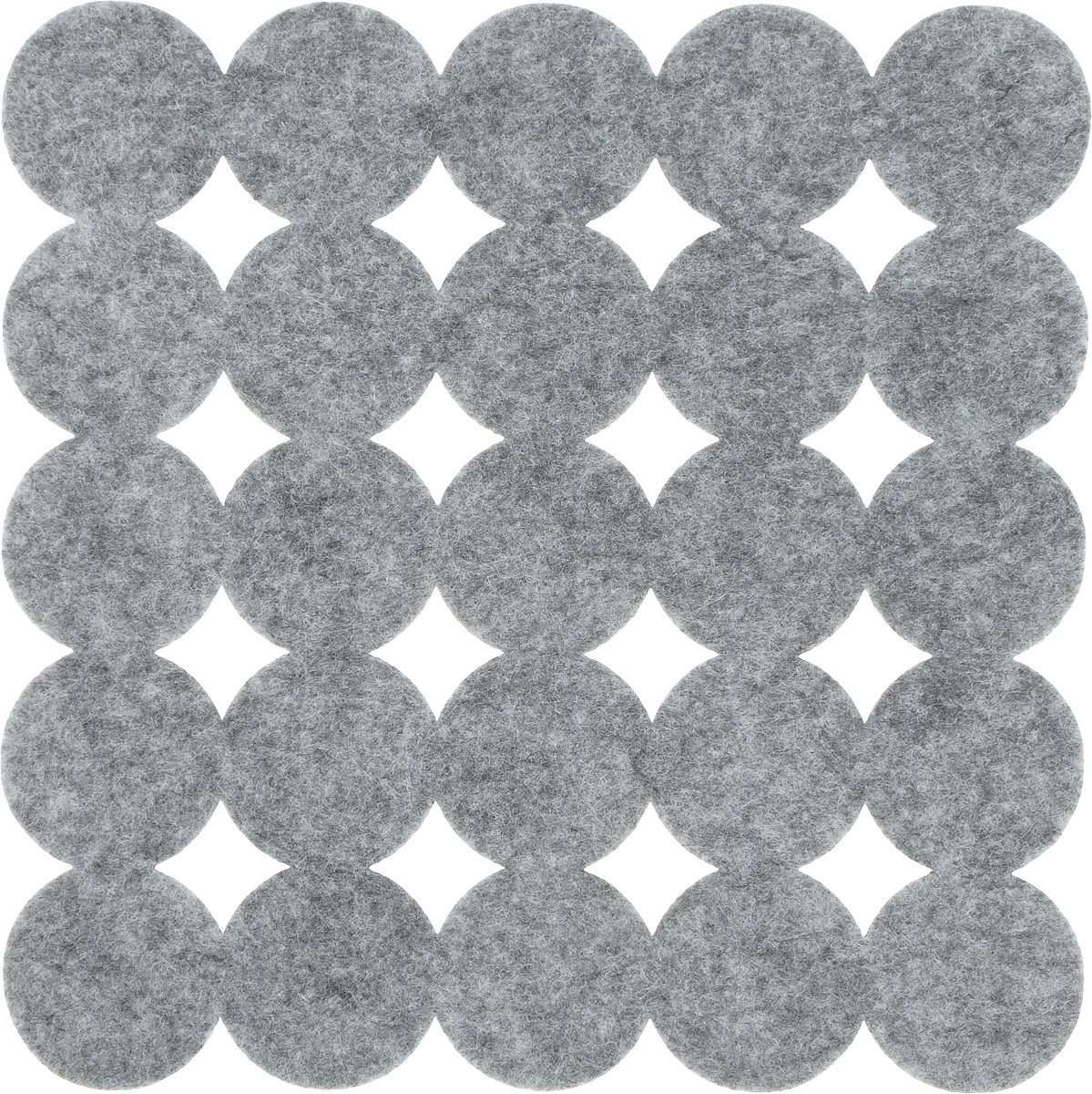 Салфетка-подставка под горячее Blumen Haus, квадратная, цвет: серый, 20 х 20 см 82015 blumen пиджак