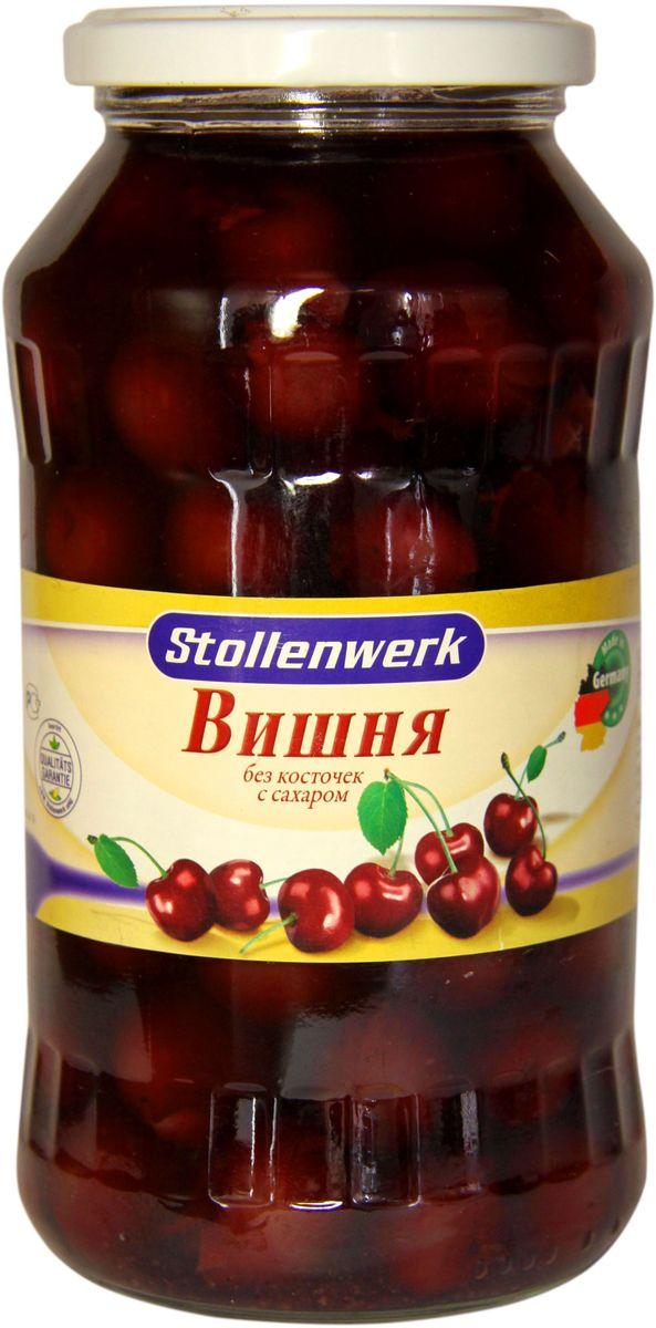 Stollenwerk вишня кислая без косточек с сахаром, 720 мл stollenwerk горошек молодой деликатесный 720 мл