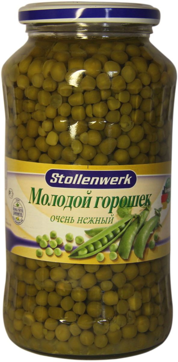 Stollenwerk горошек молодой деликатесный, 720 мл stollenwerk горошек молодой деликатесный 720 мл