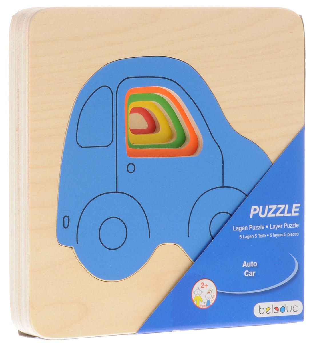 Beleduc Пазл для малышей Машинки набор для сборки машинки s2 muscle car deluxe modarri