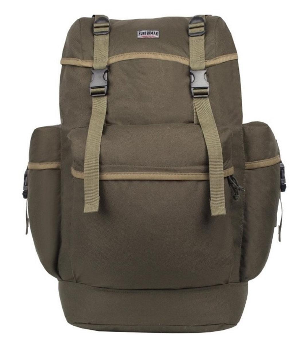 Рюкзак для охоты Hunter Nova Tour  Охотник 70 V3 , цвет: зеленый, 70 л - Охота