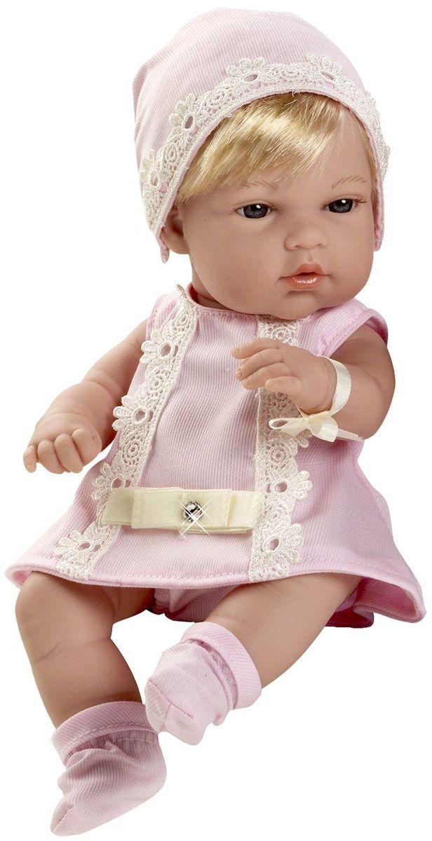 Arias Пупс Elegance цвет одежды розовый Т59285 arias пупс цвет платья белый розовый 42 см т59289