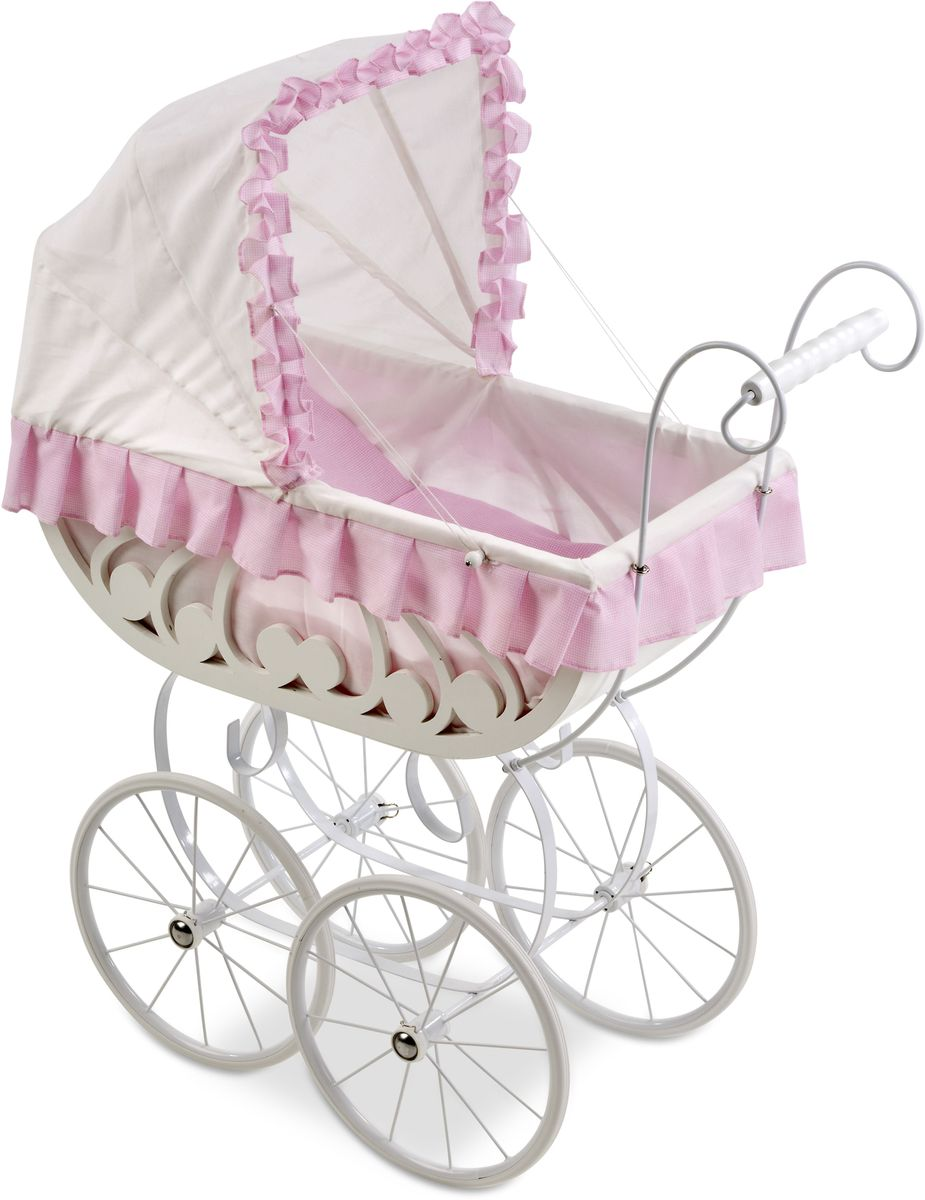 Arias Коляска для кукол Elegance Т59795 коляска люлька для кукол brio 24891114