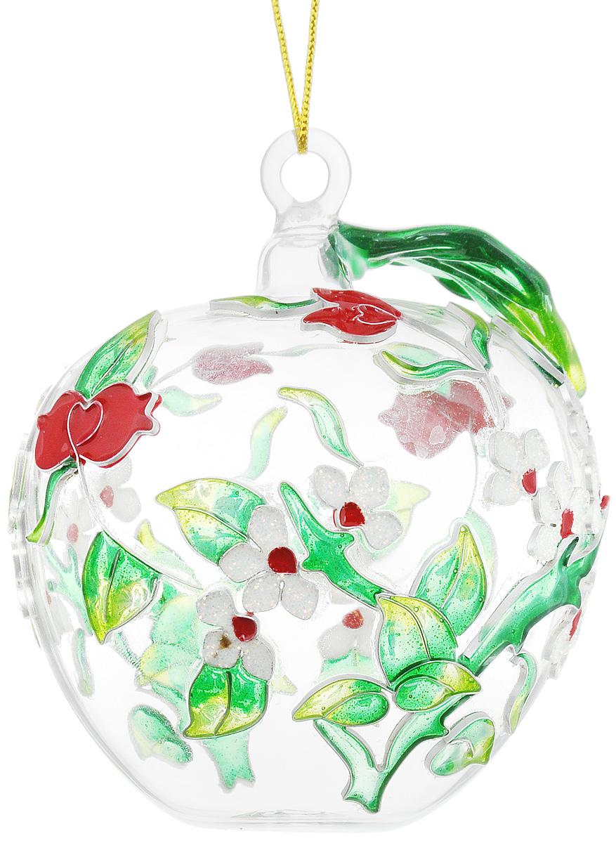 Украшение новогоднее подвесное Winter Wings Яблоко, высота 9 смN079085Новогоднее подвесное украшение Winter Wings Яблоко выполнено из стекла и эмали. С помощью специальной петельки украшение можно повесить в любом понравившемся вам месте. Но, конечно, удачнее всего оно будет смотреться на праздничной елке.Елочная игрушка - символ Нового года. Она несет в себе волшебство и красоту праздника. Создайте в своем доме атмосферу веселья и радости, украшая новогоднюю елку нарядными игрушками, которые будут из года в год накапливать теплоту воспоминаний. Откройте для себя удивительный мир сказок и грез. Почувствуйте волшебные минуты ожидания праздника, создайте новогоднее настроение вашим дорогим и близким. Размер украшения: 8 х 8 х 9 см.