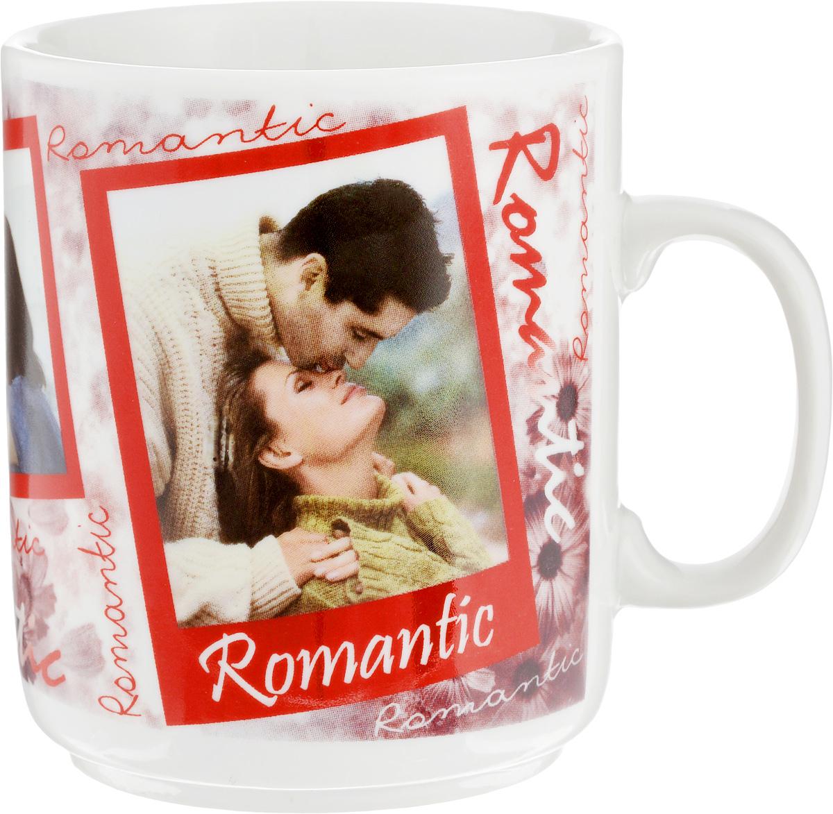 """Красивая кружка Фарфор Вербилок """"Романтика"""" способна  скрасить любое чаепитие. Изделие выполнено из  высококачественного фарфора. Посуда из такого  материала позволяет сохранить истинный вкус напитка, а  также помогает ему дольше оставаться теплым. Диаметр по верхнему краю: 7,5 см."""