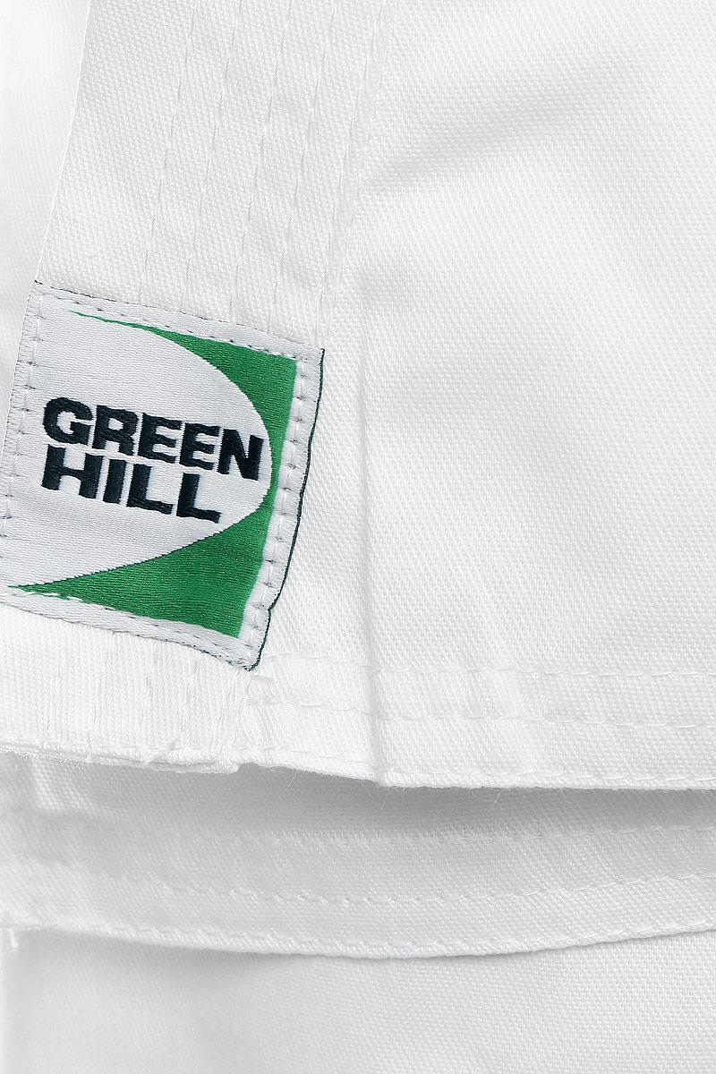 Кимоно для карате Green Hill Adult, цвет:  белый.  KSA-10347.  Размер 5/180 Green Hill