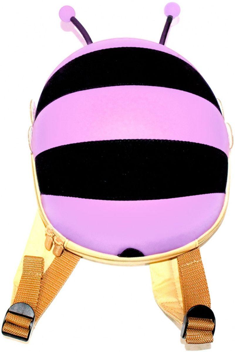 Bradex Ранец детский Пчелка цвет сиреневый bradex ранец детский котенок