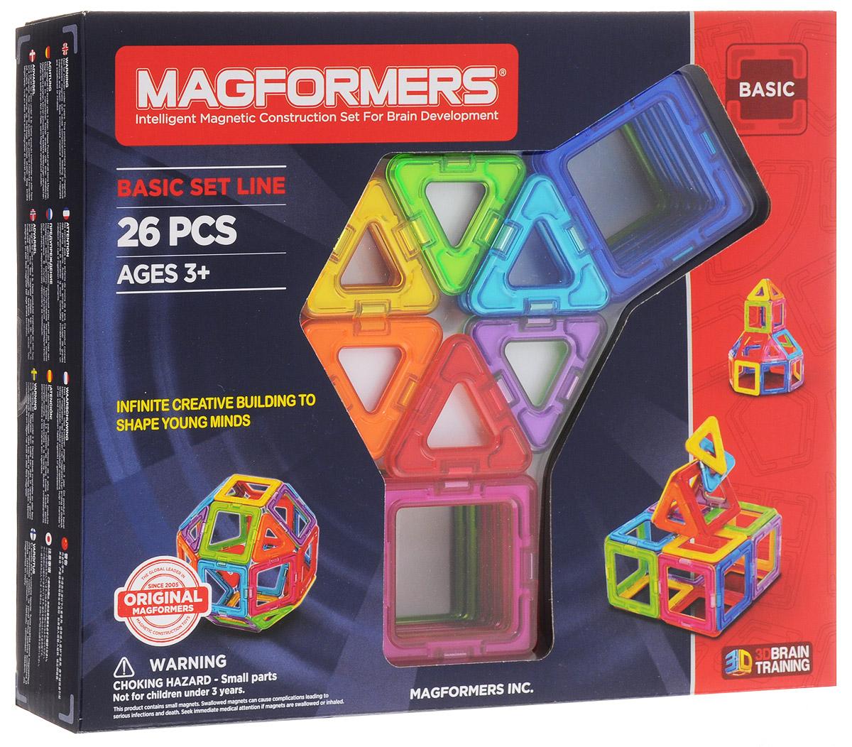 Magformers Магнитный конструктор Basic Set magformers магнитный конструктор basic set
