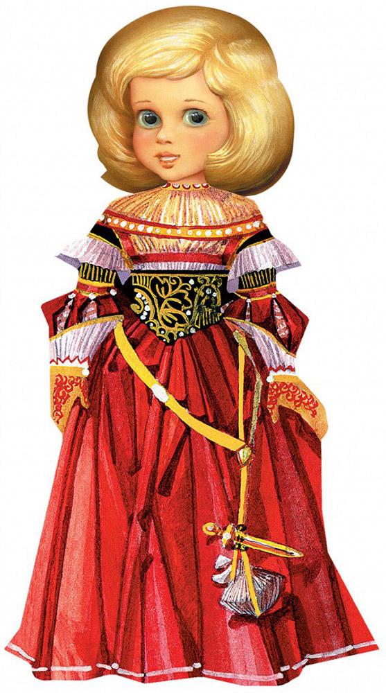 Умная бумага Набор для изготовления игрушек Кукла Маскарад Умная бумага