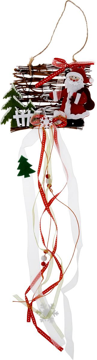 Украшение новогоднее подвесное House & Holder Дед Мороз, длина 65 смDP-C04-38085Новогоднее подвесное украшение House & HolderДед Мороз выполнено из дерева, текстиля и фетра. Спомощьюспециальной петельки украшение можно повесить влюбом понравившемся вамместе. Она несет всебе волшебство и красотупраздника. Создайте в своем доме атмосферувеселья и радости, украшаяновогоднюю елку нарядными игрушками, которыебудут из года в год накапливатьтеплоту воспоминаний. Длина: 65 см.