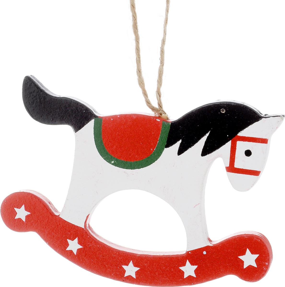 Украшение новогоднее подвесное Winter Wings Лошадка, высота 7,5 смN181318Новогоднее подвесное украшение Winter Wings Лошадка выполнено из дерева. С помощью специальной петельки украшение можно повесить в любом понравившемся вам месте. Но, конечно, удачнее всего оно будет смотреться на праздничной елке.Елочная игрушка - символ Нового года. Она несет в себе волшебство и красоту праздника. Создайте в своем доме атмосферу веселья и радости, украшая новогоднюю елку нарядными игрушками, которые будут из года в год накапливать теплоту воспоминаний.Размер: 10 х 0,6 х 7,5 см.