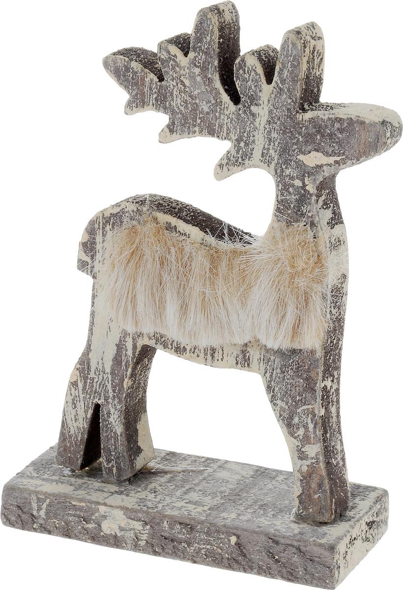 Фигурка декоративная House & Holder Олень, высота 13 см фигурка декоративная house & holder дед мороз с подсветкой высота 9 см