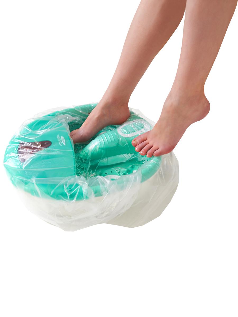 Пакет для педикюрных ванн 50 х 70 см, 100шт./уп.00-260Одноразовые пакеты для ванн используются во время педикюра поверх многоразовой емкости и являются обязательным условием соблюдения действующих норм СанПина. Описание: Материал: полиэтилен Размеры: 50 х 50+20 см Цвет: прозрачный Тип упаковки: 100 шт.